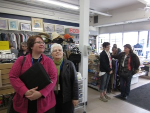 selkirk thrift shop visitors