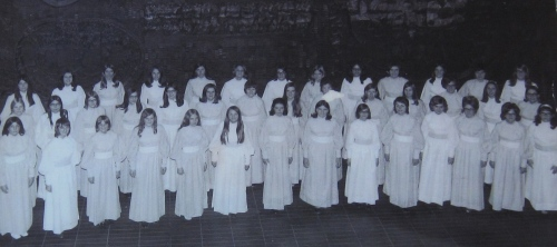 I'm second from the left in the back row
