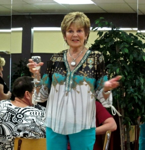 Shirley Penner at Saturday's reunion brunch