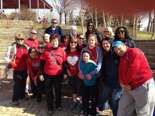 ms walk team 2014