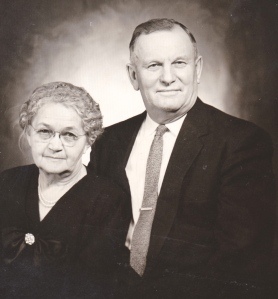 One of the last photos of my grandparents together