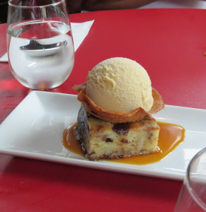 bread pudding at peasant cookery