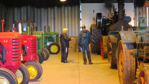 farm tractors mennonite heritage village museum