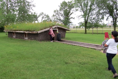 sod house or zemlin mennonite heritage village museum