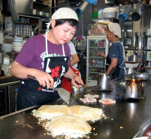 okonomiyaki japanese pancakes hiroshima