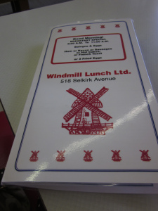 windmill menu
