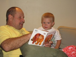 dave reads to jack