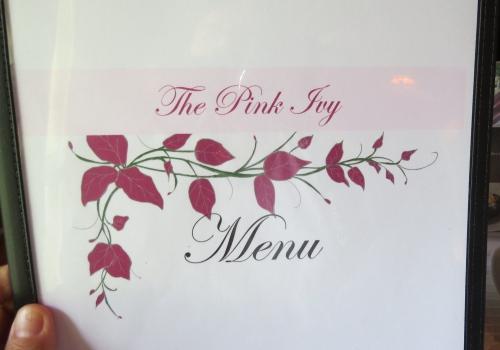 pink ivy menu