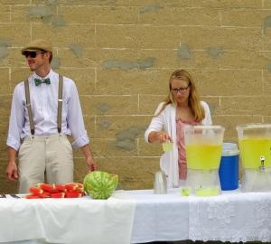 watermelon and lemonade