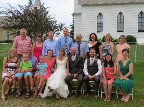 Hong Kong friends at Rebekah and Daniel's wedding in Minneapolis