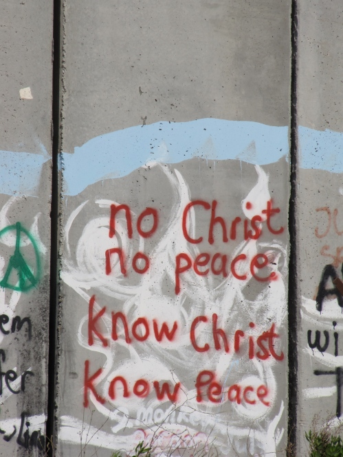 graffiti refugee camp palestine