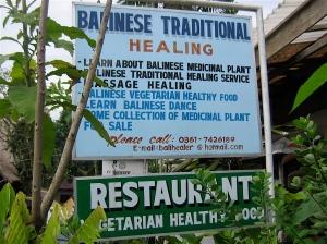 Wayan's shop in Ubud, Bali