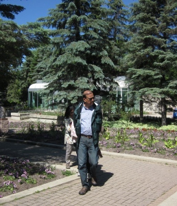anil in garden