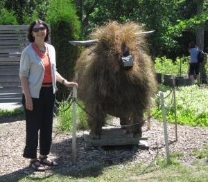 bison topiary garden