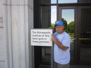 sign outside minneapolis art institute