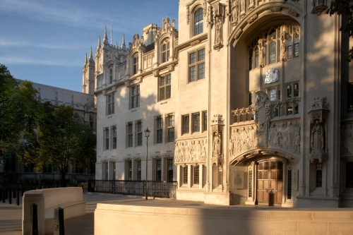 Supreme Court Building Parliament Square London