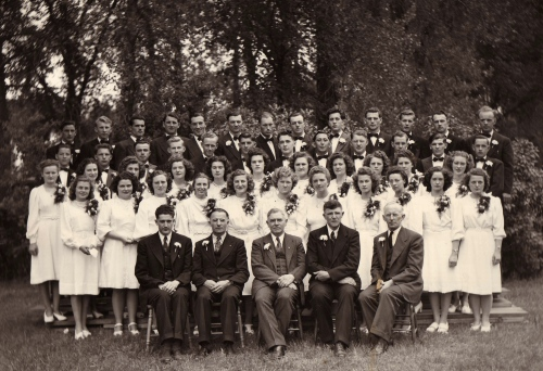 The Mennonite Collegiate Institute graduating class of 1948