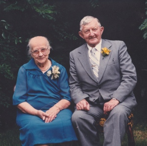 My Grandma and Grandpa Peters