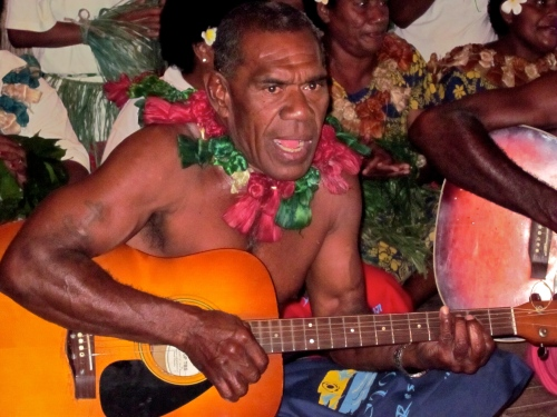 Guitarist and singer Fiji