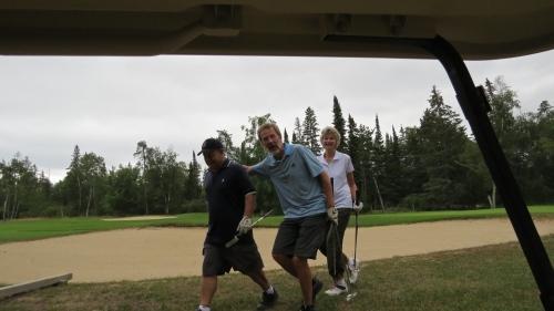 golfing sand hill