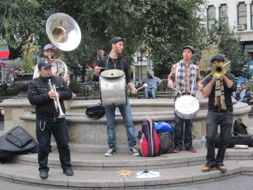 Street Musicians New York City