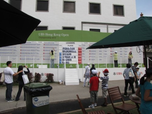leader board hong kong open