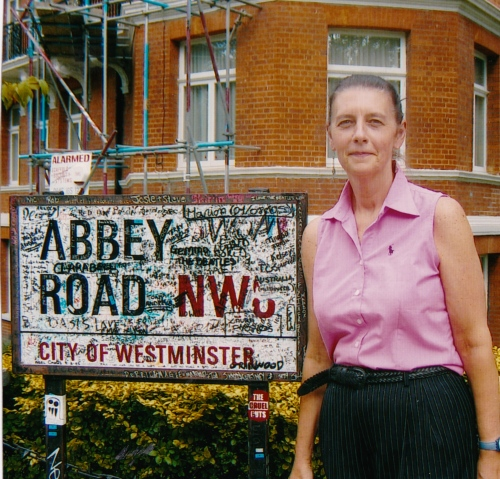 Visiting Abbey Road in London in 2005
