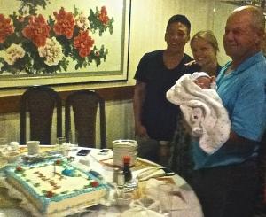 dave, thomas and cake