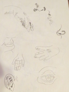 first drawing attempts