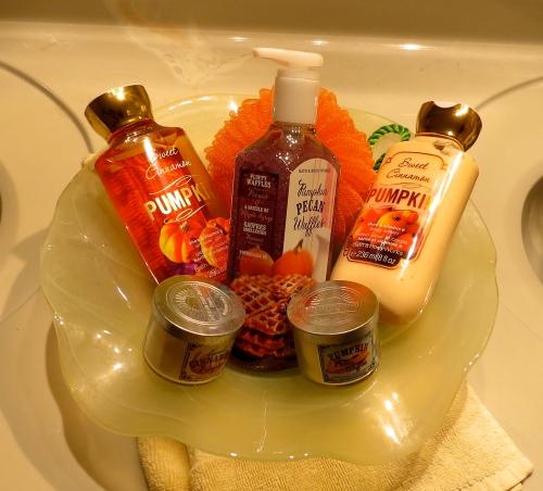 pumpkin toiletries