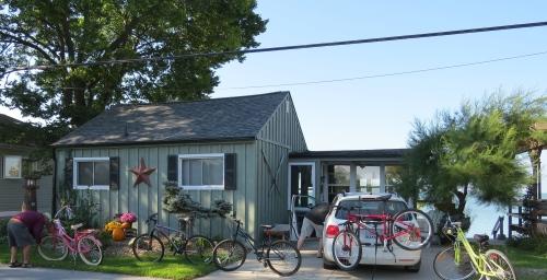 cottage on Lake Erie