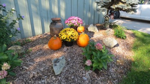 hannah's fall display