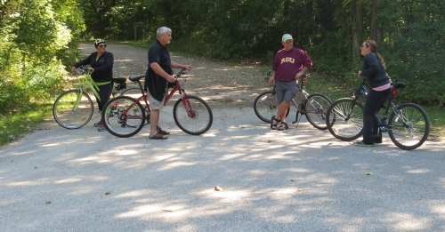 cycling point pelee
