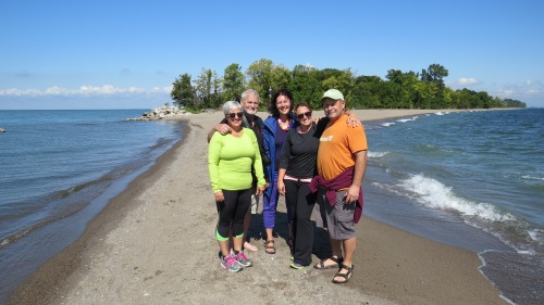 driedger family at the tip of canada