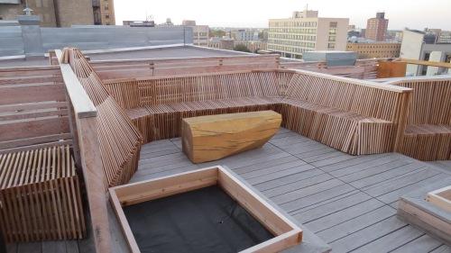 roof top ashdown warehouse