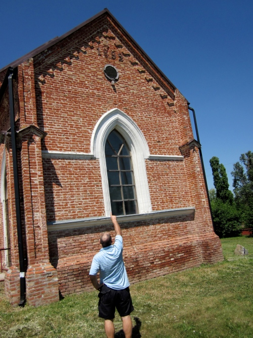mennonite church in petershagen ukraine
