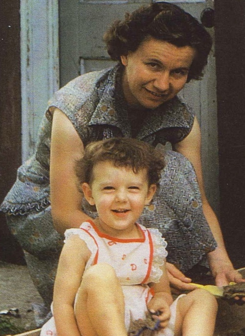 Me and Aunt Vi 1957