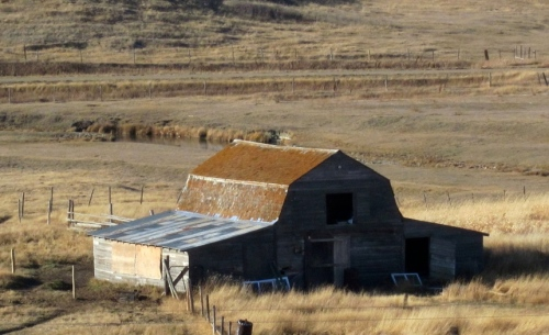 I was visiting Herschel Saskatachewan doing research for a novel when I photographed this abandoned barn