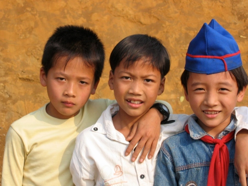 boys in vietnam