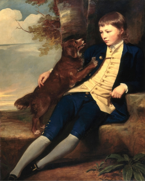 romney- charles and his dog