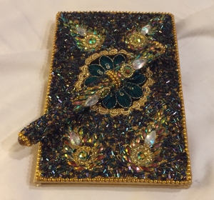 jeweled notebook