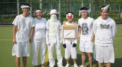sports day white team ics 2011