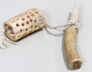 inuit bone and cup game