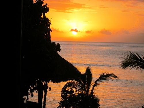 Sunset in Fiji- Photo taken in 2011