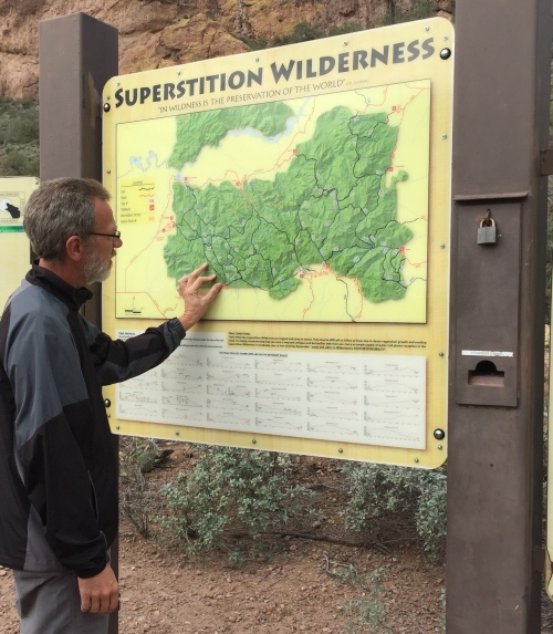 map for superstition mountain