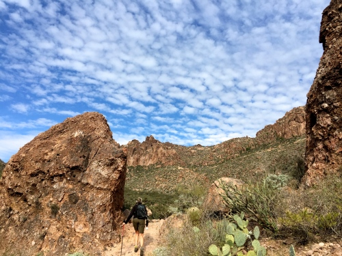 hiking the peralta trail