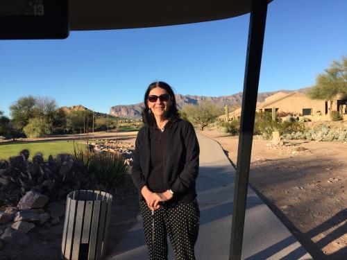 golfing at sidewinder
