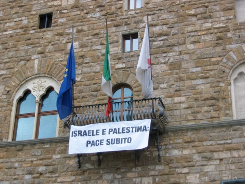 peace message florence