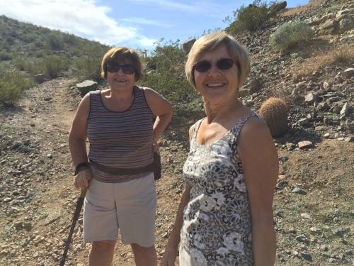 quail trail hikers
