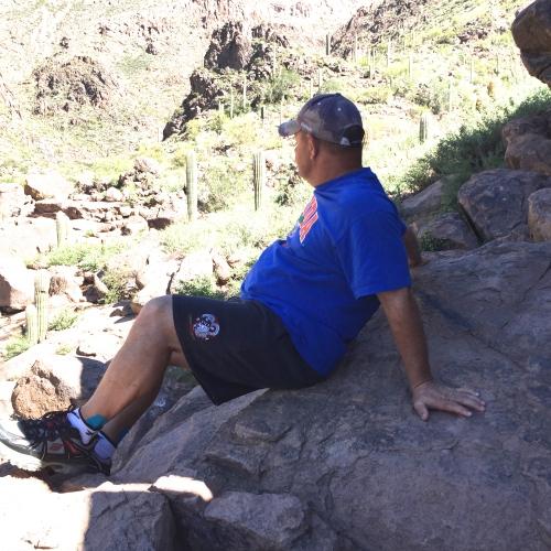 resting hieroglyphic trail
